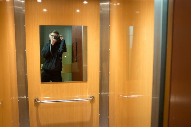 winda; elevator; lustro; mirror