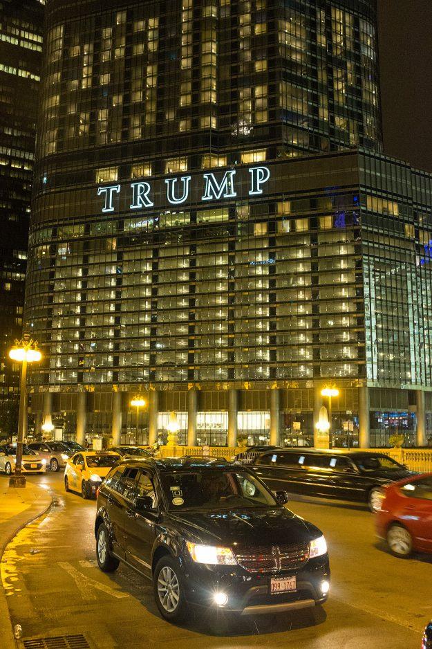 Trump Tower; Chicago; Illinois