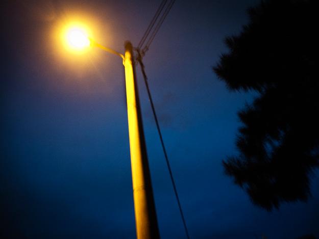 Noc; night; latarnia; lantern