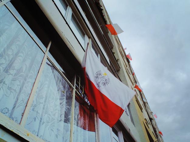 Flaga; Flag; Polska; Poland; Dzień niepodległości; indenpedence day