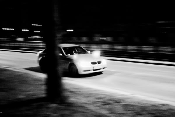 samochód; car; noc; night;