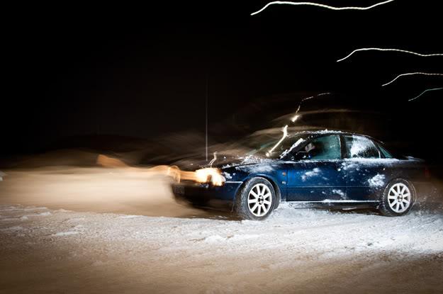 Łepek, Samochód, Car, Śnieg, Snow