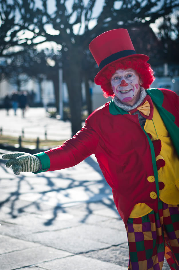 Clown, Klaun, Sopot