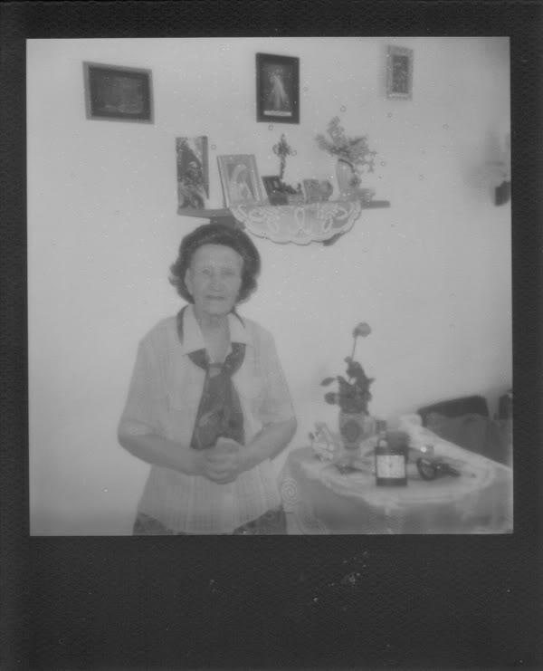 Babcia; Maria Ambros; Polaroid