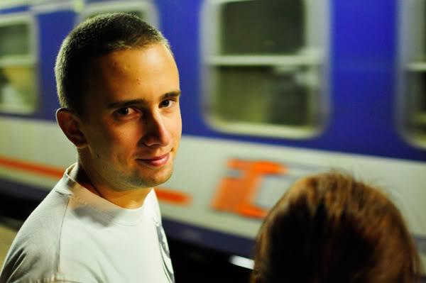 Maciej Jędrzejewski; Oliwa pkp; pociąg; trAIN; NOC; NIGHT