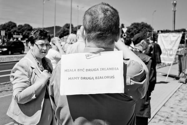 10 urodziny PO; platforma obywatelska; kamerzysta; kartka; obietnica; partia; irlandia; białoruś; ERGO Arena; Gdańsk; Żabianka; Czerwiec; 2011;  Irland; Belarus
