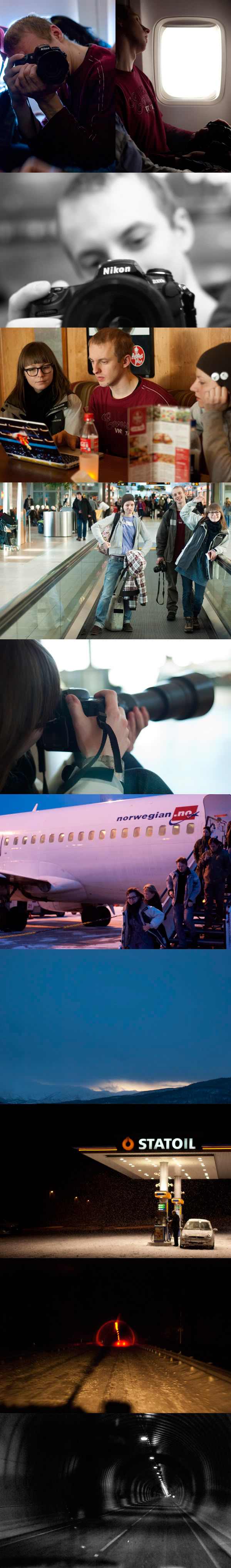 Samolot, airplane, Norwegia, Norway, Szkola, School, Stypendium, Travel, Podroz.