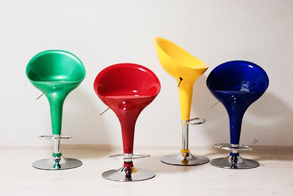 Krzesła, chairs, kolory, colors, colours, studio