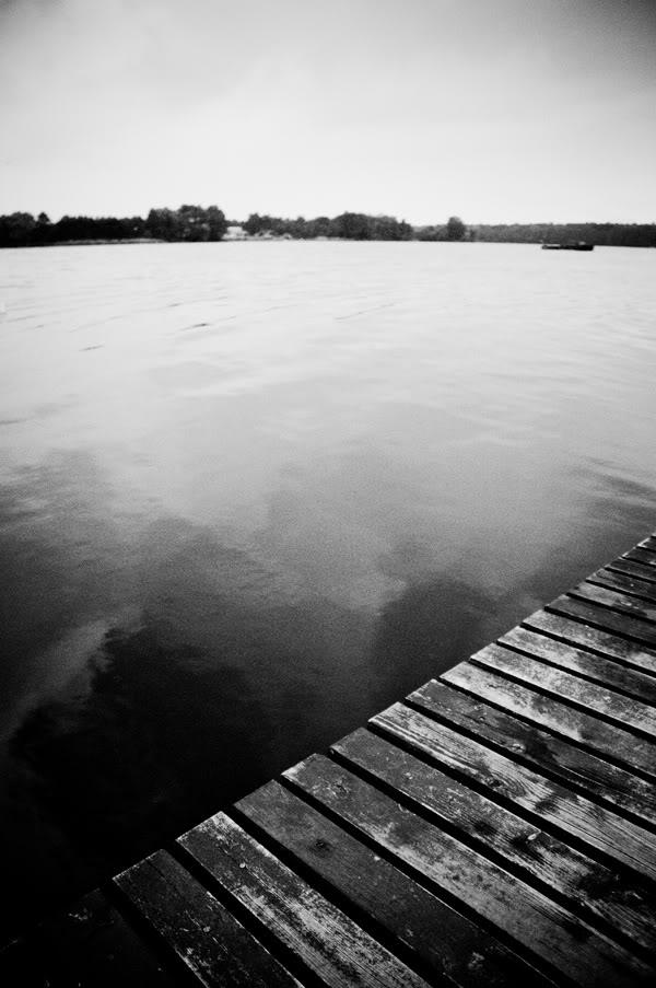 2011; Licheń; jezioro; las; maj; niebo; pomost;