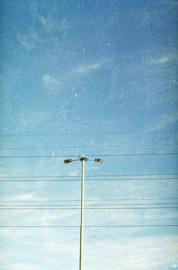 Zaspa; Latarnia; Lantern; Niebo; Sky