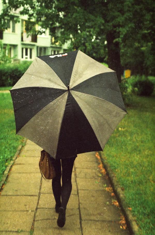 Natalia Bonarska; Parasol; Parasolka; Umbrella