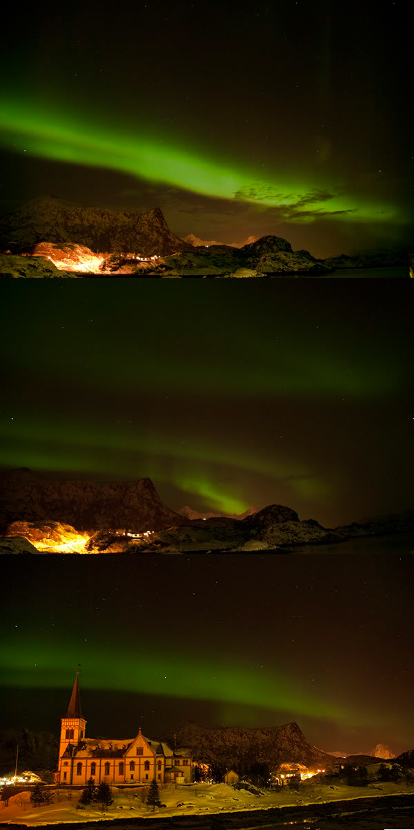 Zorza, Northern lights