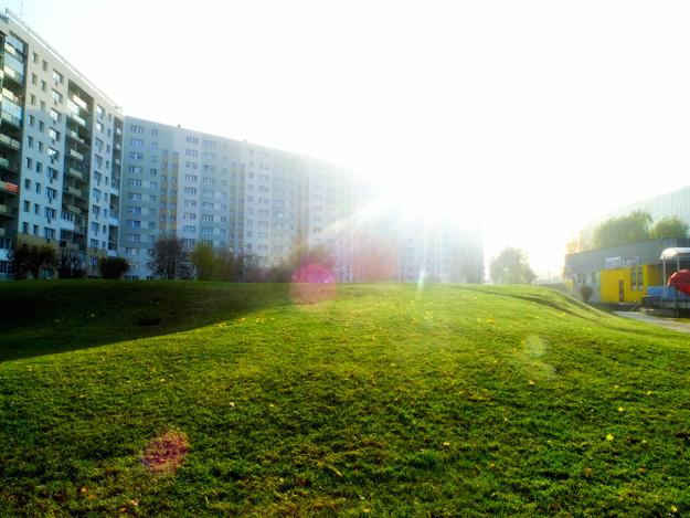 Gdańsk; Żabianka; Górka; Hill; Światło; light; słońce; sun