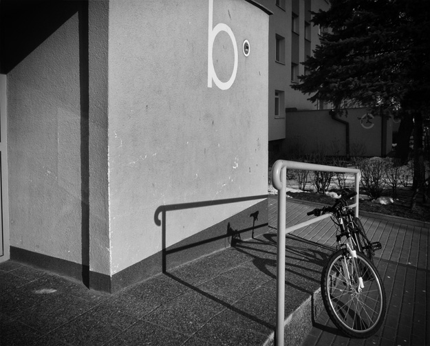 rower; bicycle; blok; block of flats; gdańsk żabianka