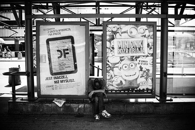 ezdomny; Homeless; Warszawa; Polska