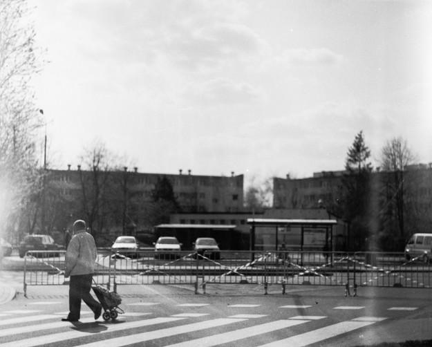 gdańsk; żabianka; barricades