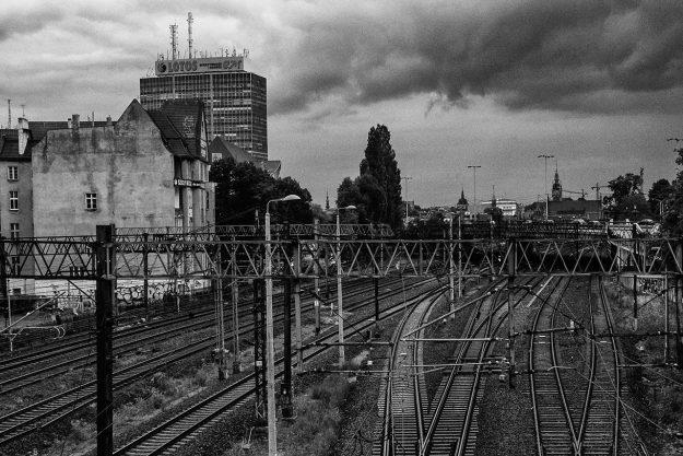 Gdańsk; tory; railway