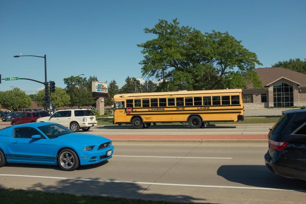 Wisconsin; lamers; school bus