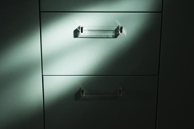 szuflada; drawer;; światło; light