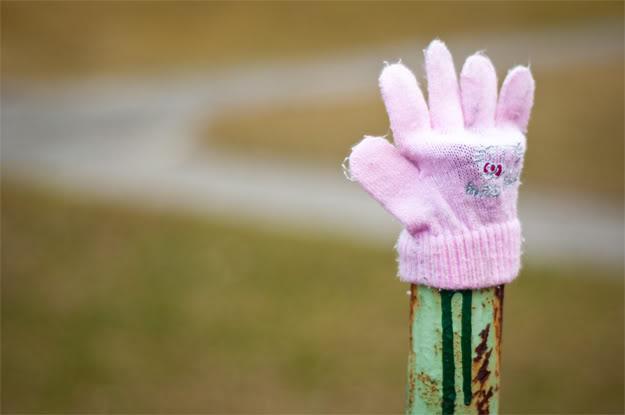 Zgubiona rękawiczka; lost glove