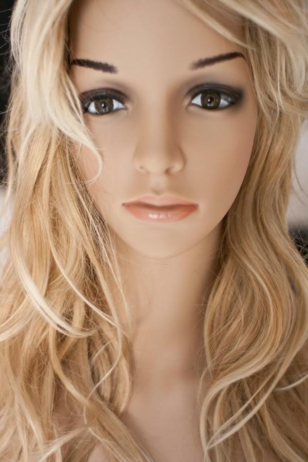 /model, blond, blonde, kobieta, woman, naked, kukła, dummy