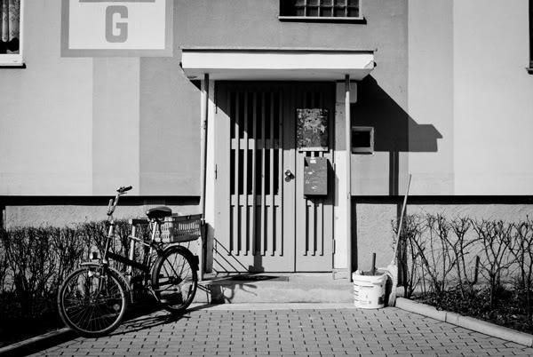 przymorze; primore; rower; bike; blok; block of flats
