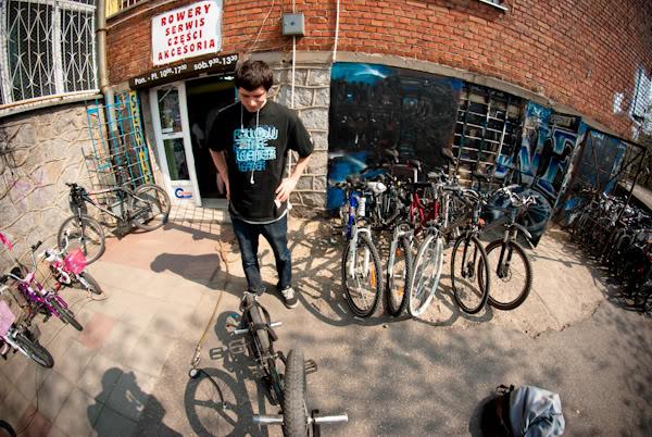 bmx, sklep rowerowy, bike shop, Rafał Pieśniak