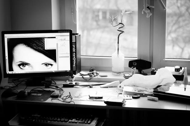Oczy; Eyes; Ekran; Screen