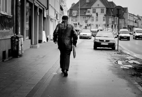 Gdańsk; Wrzeszcz; Gdask; Staruszek; Old man; bieg; run; miasto; city