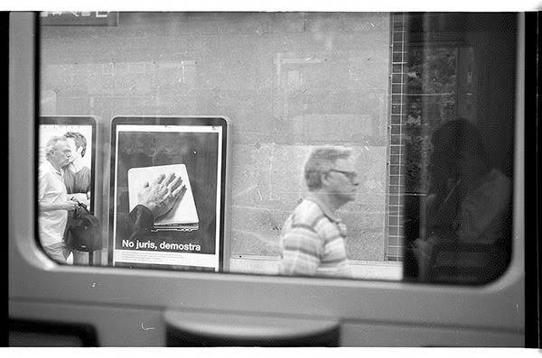 Metro, odbicie, reflection