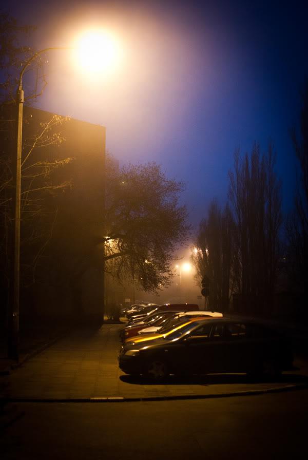 przymorze; primore; latarnia; lantern; światło; light; samochody; cars