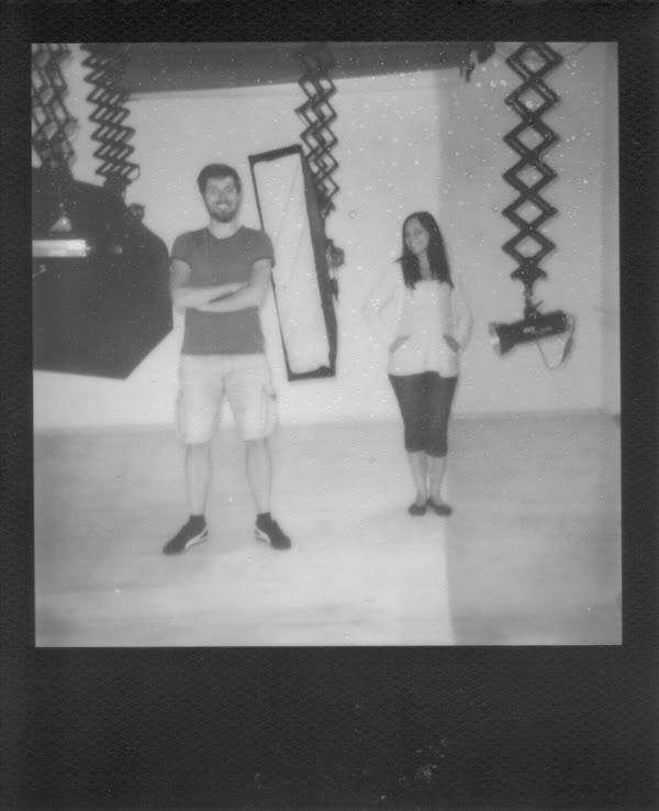 Arur Hutnik; Natalia Fereniec; Studio; Polaroid
