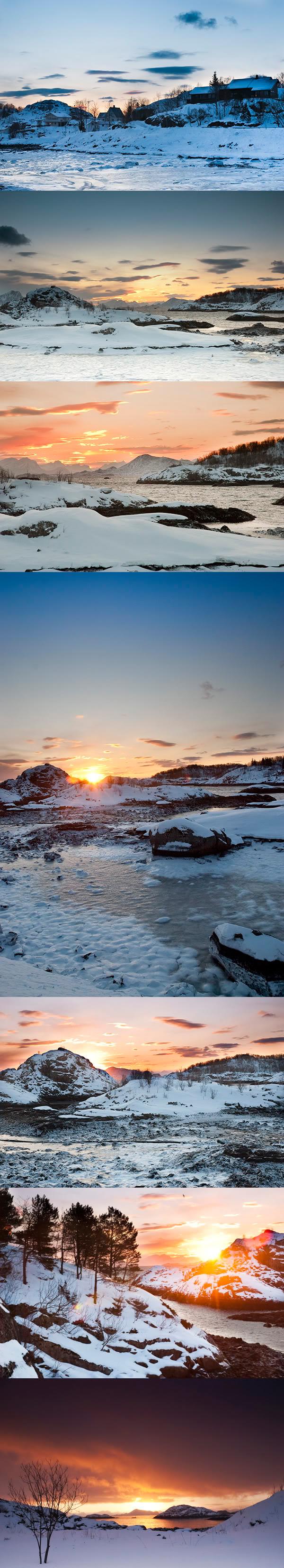 wschod, sunrise