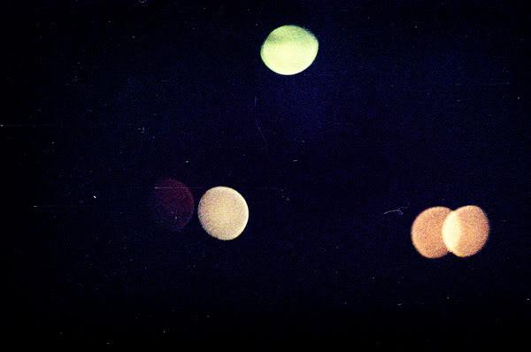 noc; night; światła; noc; nieostre; unsharp