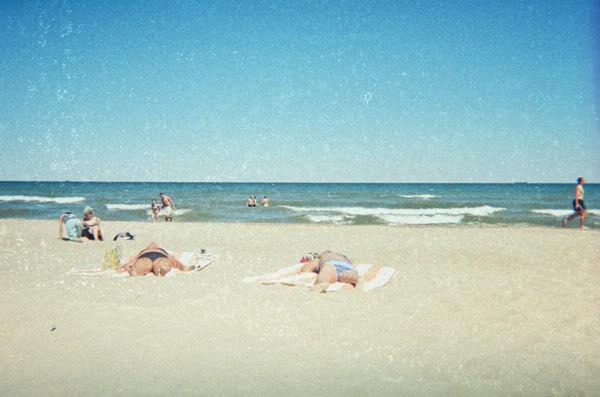 Plaża; Beach; Wieloryby; Wales