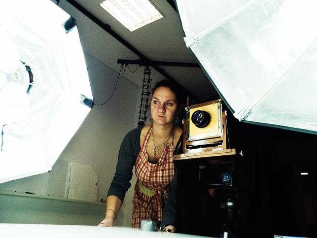 Dorota Karecka; Oza; Mokry kolodion; Wet plate collodion